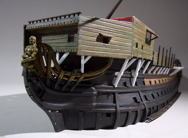 Un ponton prison anglais de la Révolution ou de l'Empire 1/200 sur base HELLER - Page 7 17070607462123099315135102