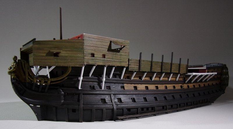 Un ponton prison anglais de la Révolution ou de l'Empire 1/200 sur base HELLER - Page 7 17070607462223099315135103