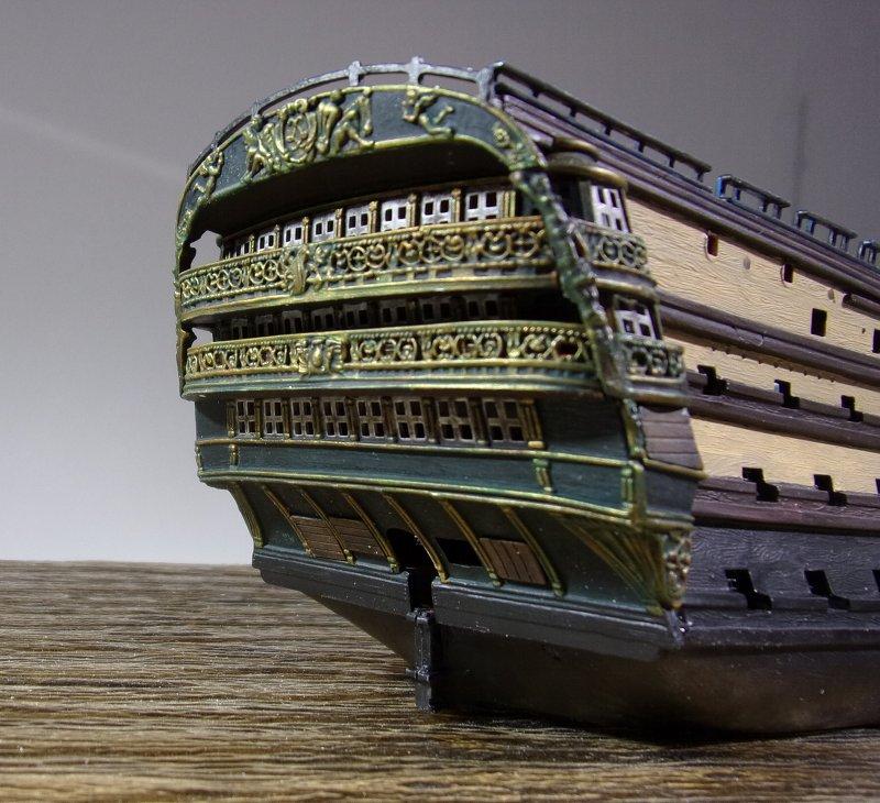 Un ponton prison anglais de la Révolution ou de l'Empire 1/200 sur base HELLER - Page 6 17070607462523099315135106
