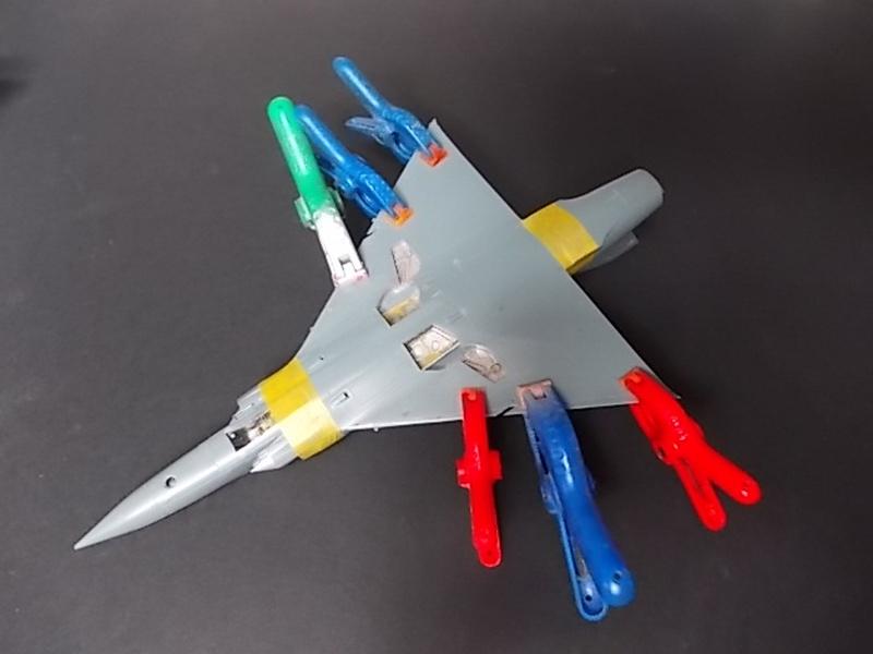 Mirage III C [Eduard 1/48] 17070811043410194415139827