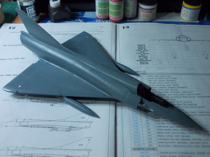 Mirage III C [Eduard 1/48] 17070811045810194415139828