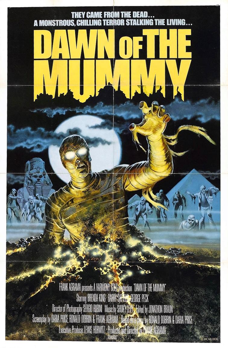L'AFFICHE : DAWN OF THE MUMMY (1981) dans CINÉMA 17070912170615263615139887