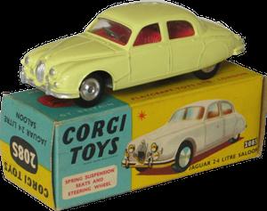 Jaguar 2.4 Litre Corgi-Toys