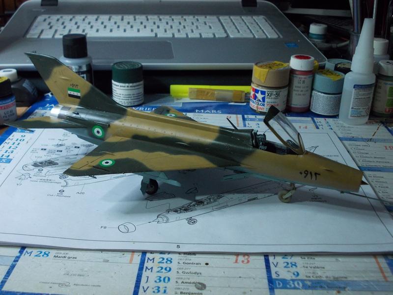MiG-21 F-13 (Trumpeter 1/48) 17071809455010194415155163