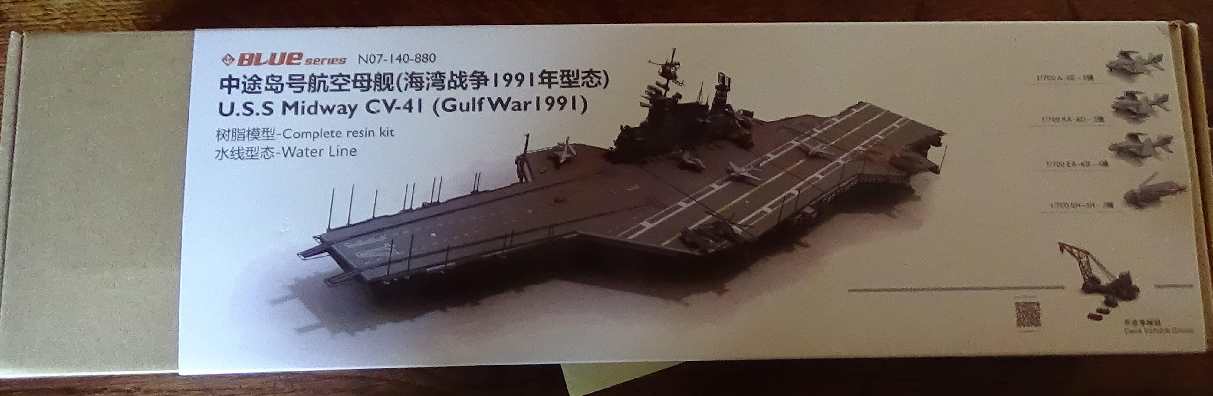 [USS Midway CVA-41] Porte avions lourd américain-700e-Orange Hobby 17071905021223134915155985