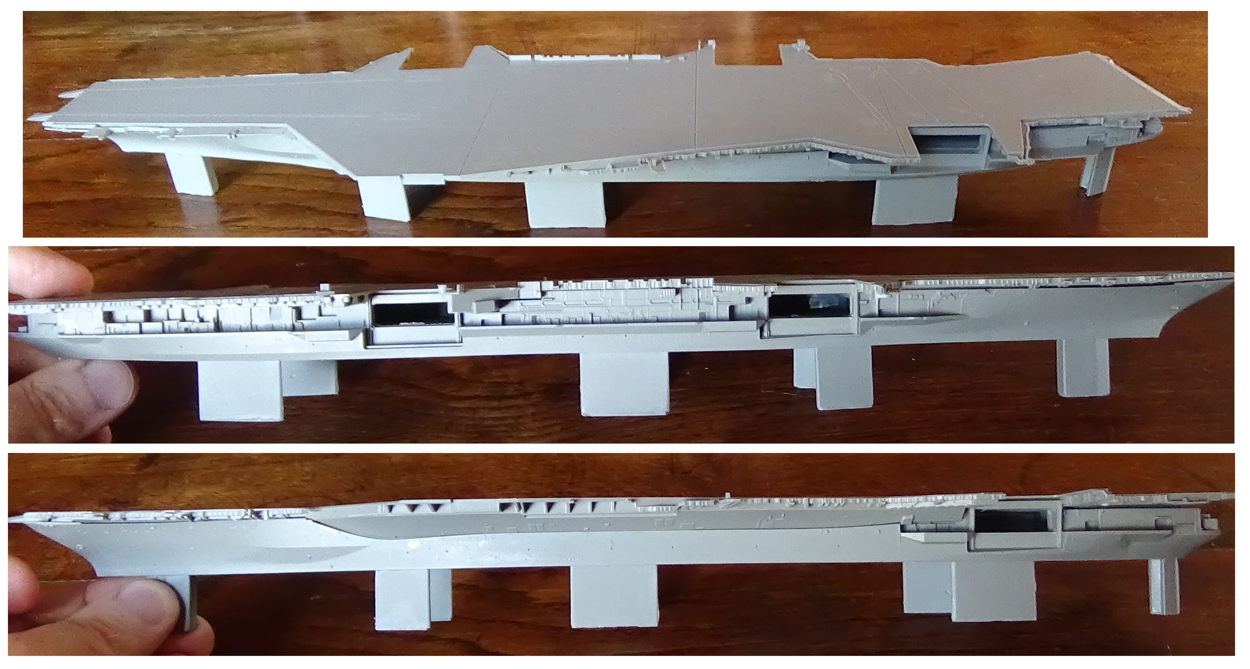 [USS Midway CVA-41] Porte avions lourd américain-700e-Orange Hobby 17071905022123134915155986