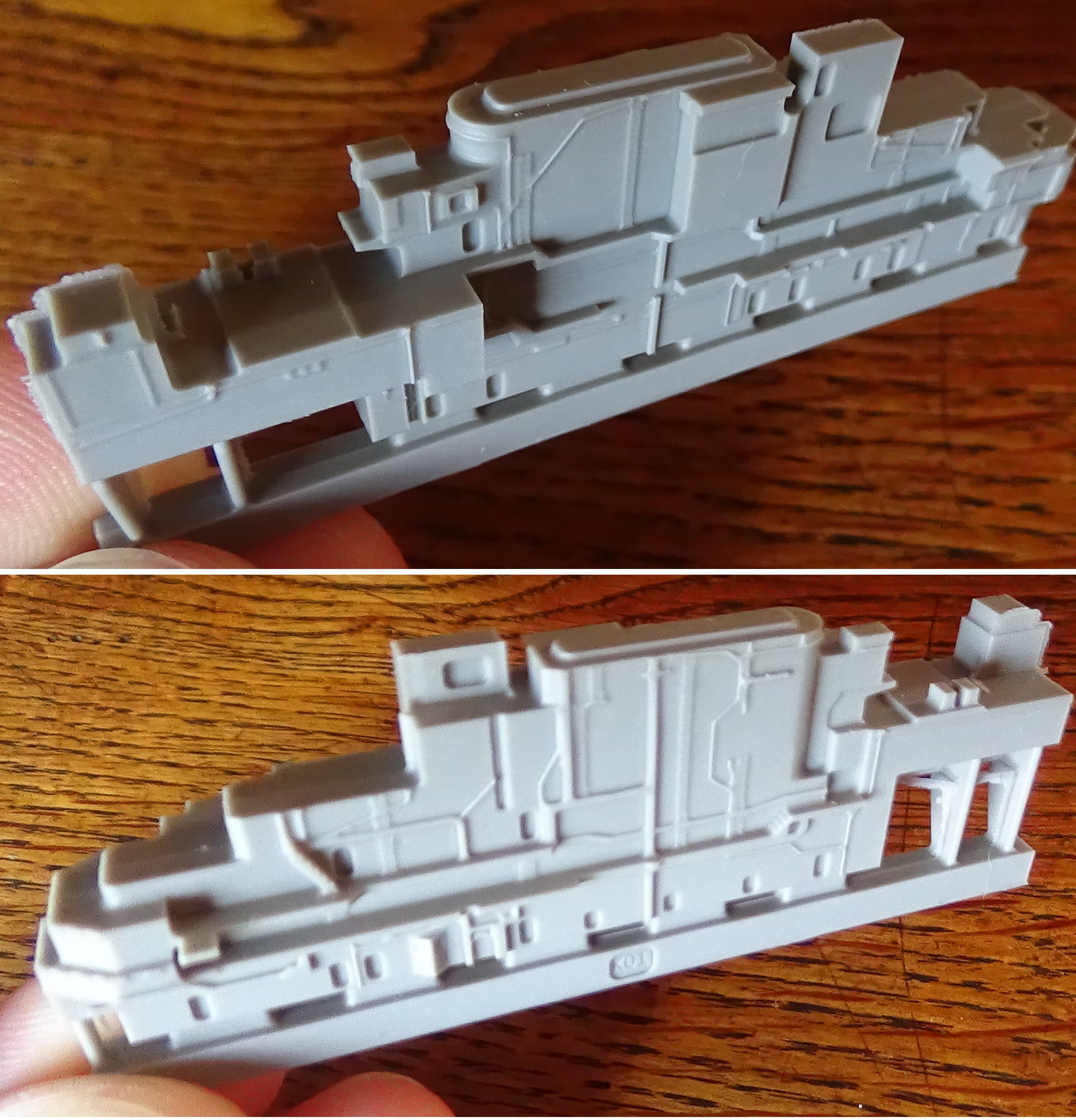 [USS Midway CVA-41] Porte avions lourd américain-700e-Orange Hobby 17071905023323134915155987