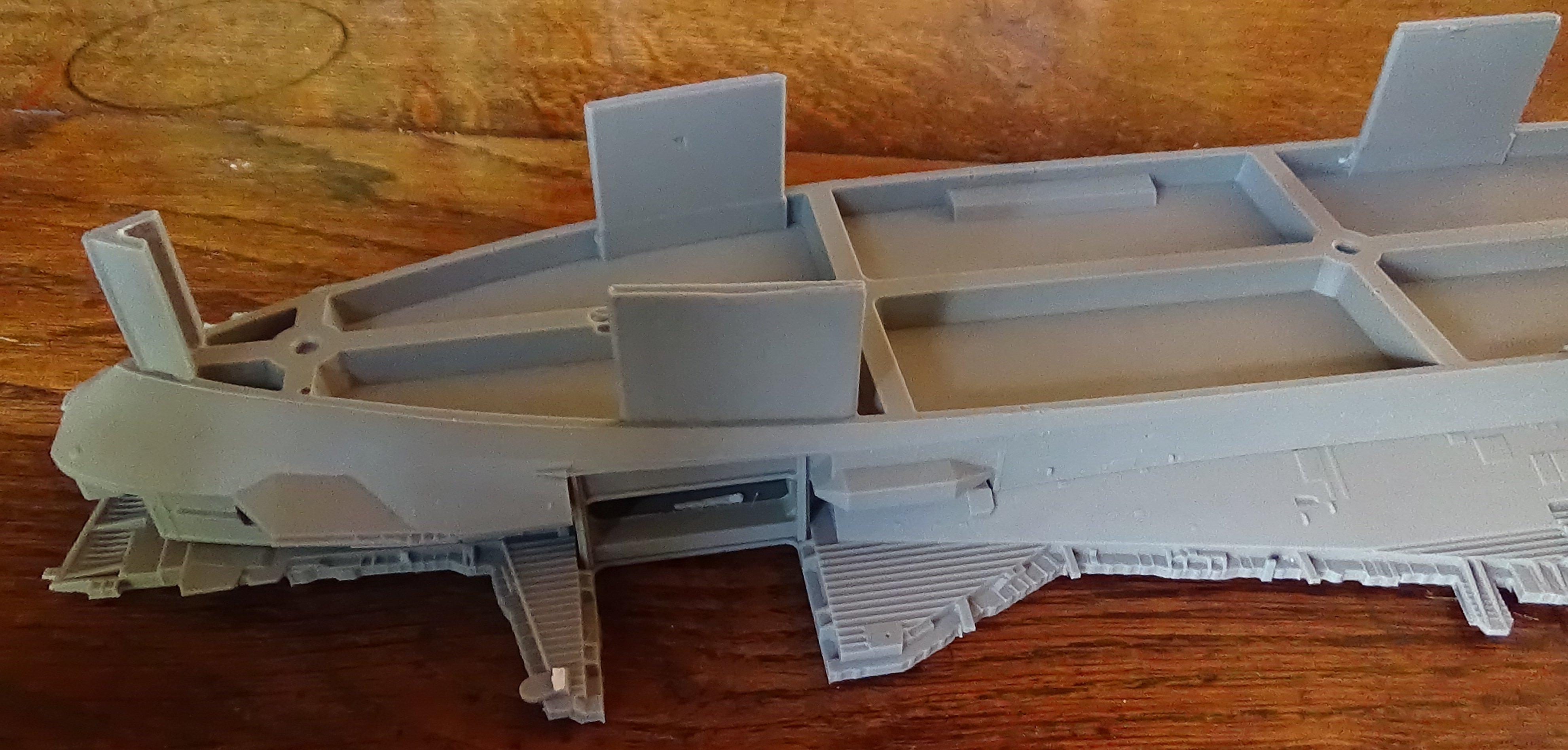 [USS Midway CVA-41] Porte avions lourd américain-700e-Orange Hobby 17071905024923134915155989