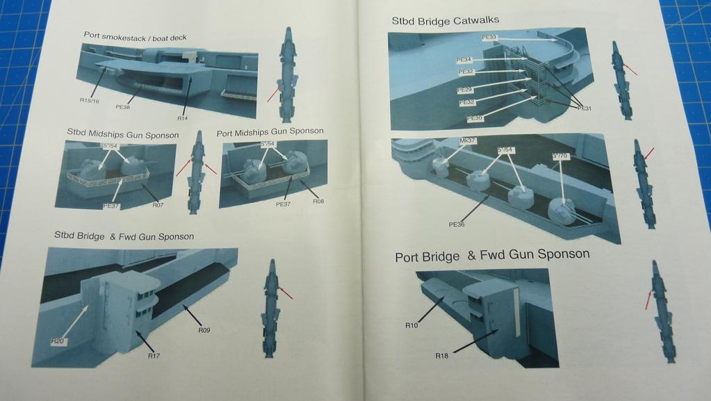 [Blue Ridge] Porte-avions USS United States CV-58, kit résine, 1-700e 17071911573323134915157363