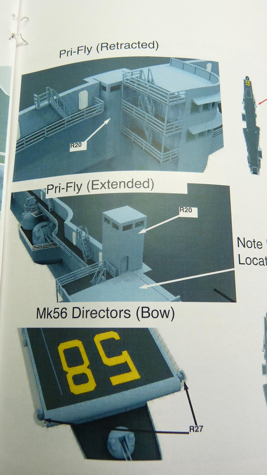 [Blue Ridge] Porte-avions USS United States CV-58, kit résine, 1-700e 17071911590123134915157384