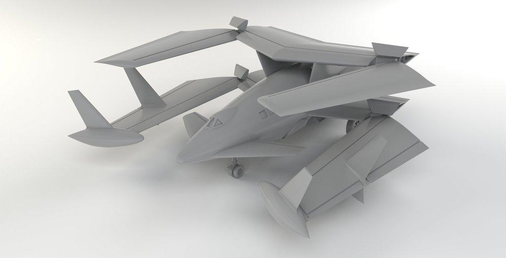 [Blue Ridge] Porte-avions USS United States CV-58, kit résine, 1-700e 17071911593323134915157388