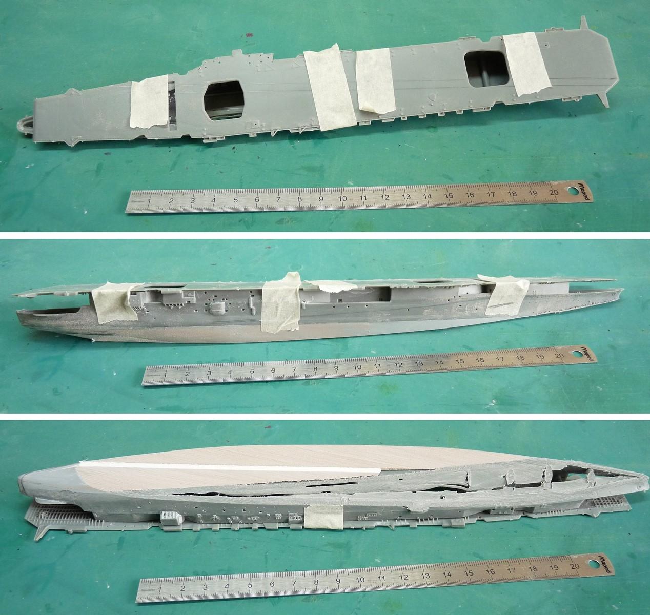Amagi, porte avions japonais, juillet 1945, 700e Fujimi 17072101043023134915159418
