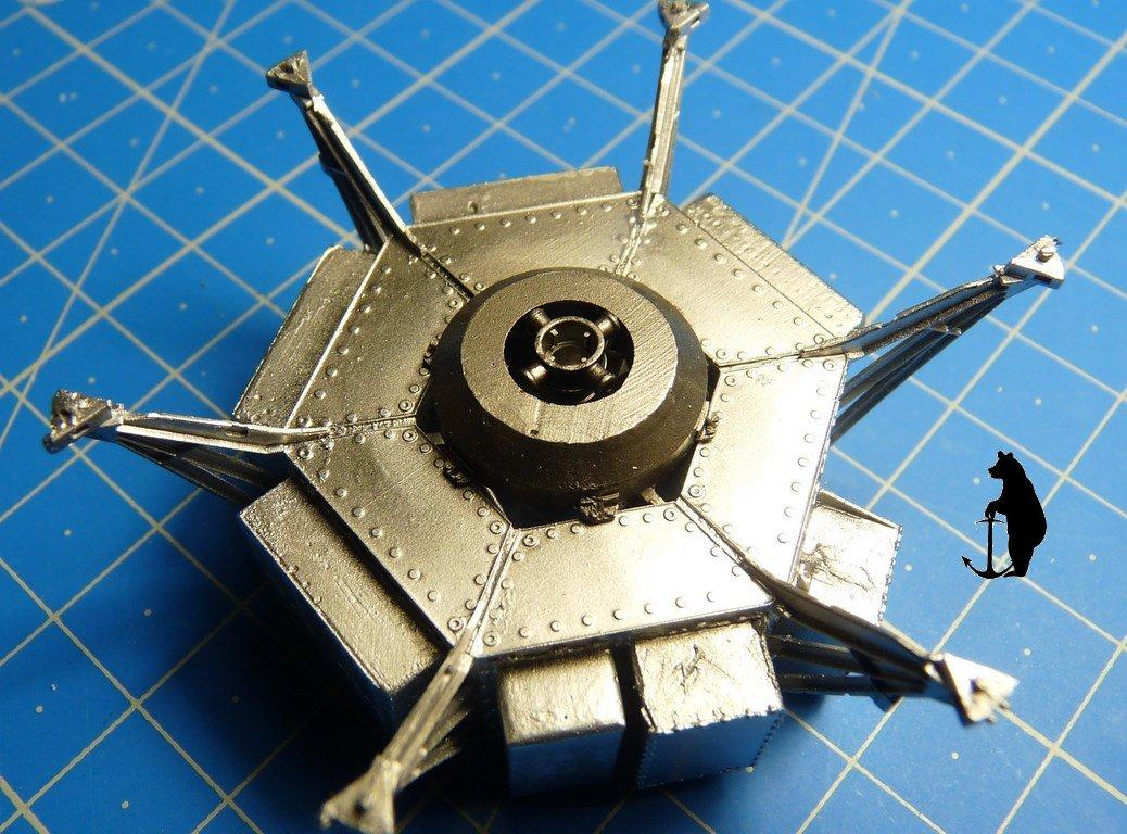 Crash-test planétaire : la sonde lunaire Ranger 8 au 1/24e 17072103215023134915160123