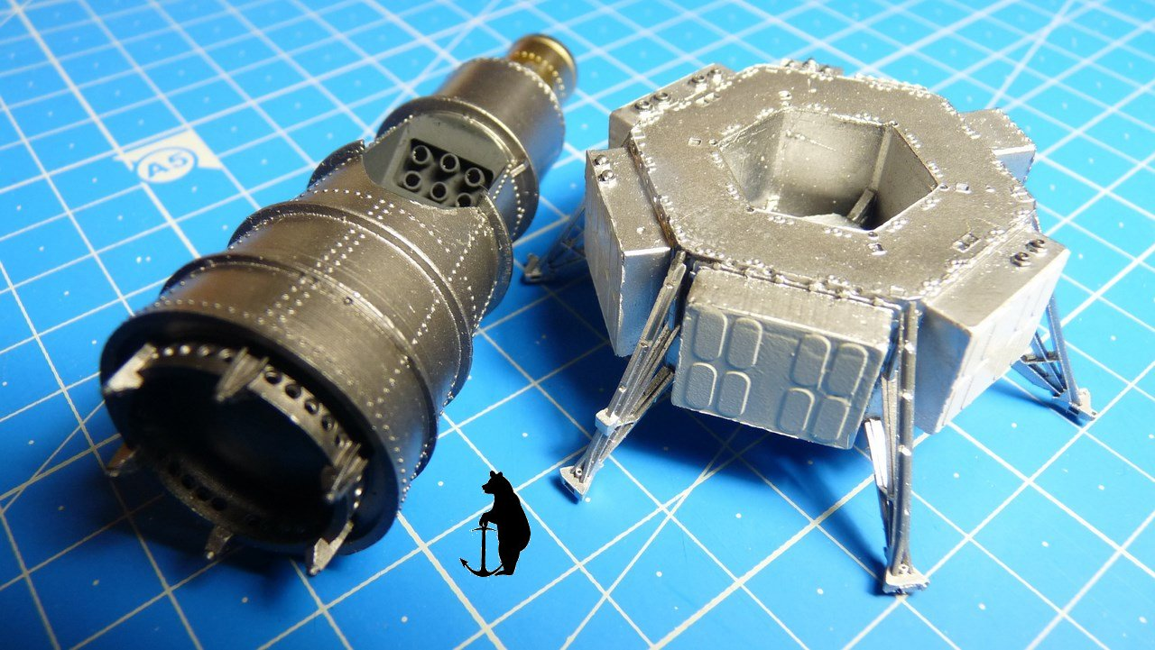 Crash-test planétaire : la sonde lunaire Ranger 8 au 1/24e 17072103215223134915160124