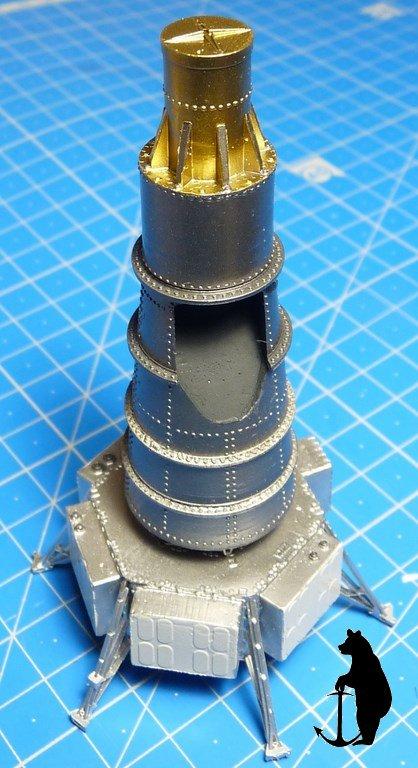 Crash-test planétaire : la sonde lunaire Ranger 8 au 1/24e 17072103215623134915160127