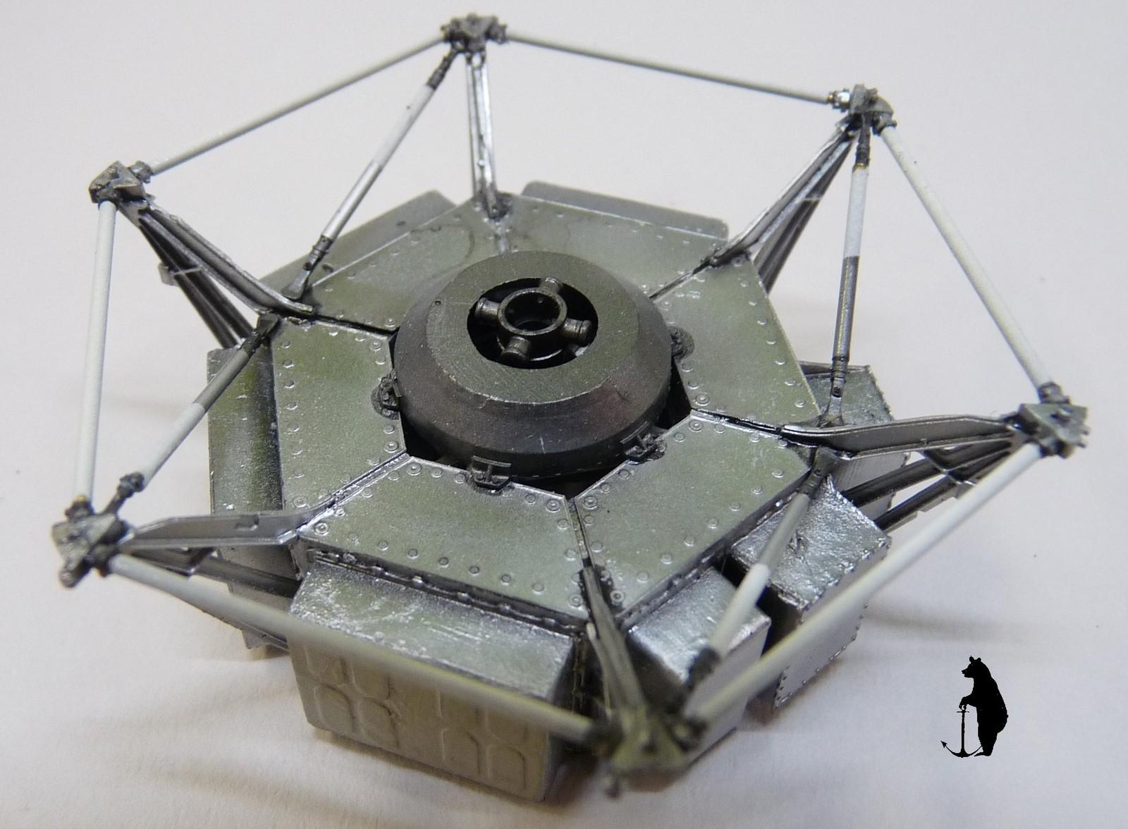 Crash-test planétaire : la sonde lunaire Ranger 8 au 1/24e 17072103222623134915160142