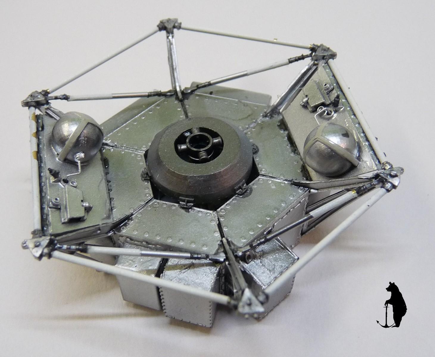 Crash-test planétaire : la sonde lunaire Ranger 8 au 1/24e 17072103223923134915160146