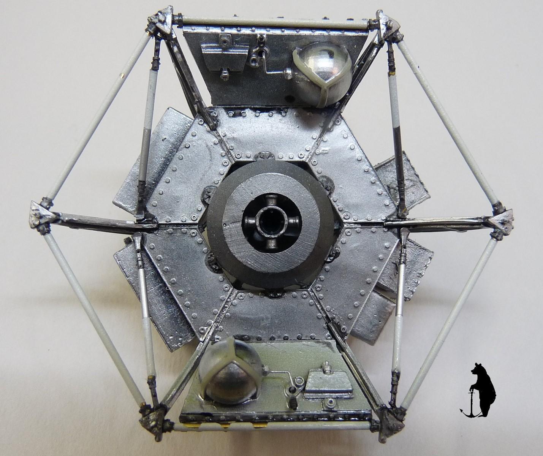 Crash-test planétaire : la sonde lunaire Ranger 8 au 1/24e 17072103224823134915160148