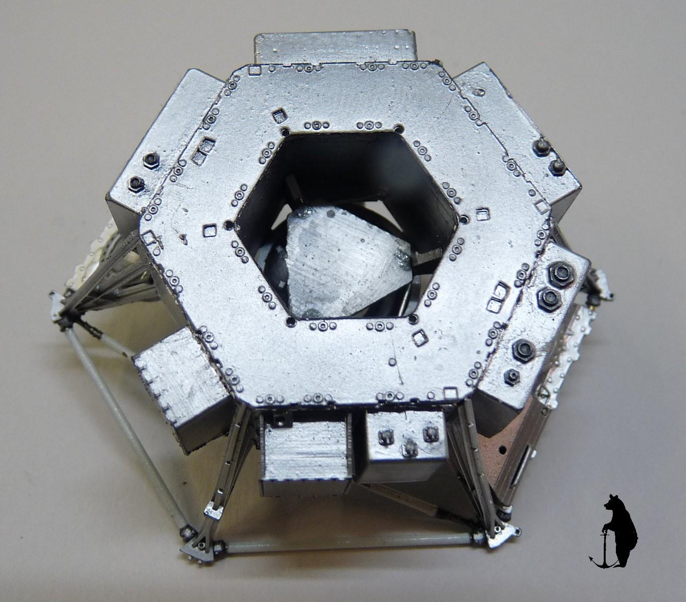 Crash-test planétaire : la sonde lunaire Ranger 8 au 1/24e 17072103225223134915160149