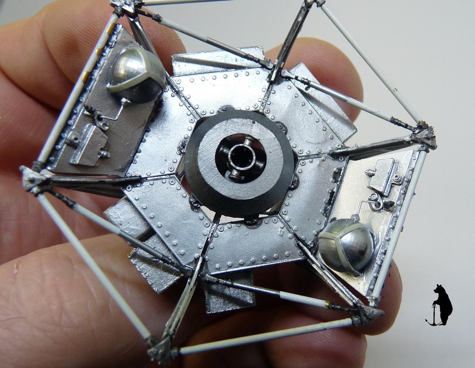 Crash-test planétaire : la sonde lunaire Ranger 8 au 1/24e 17072103230323134915160152