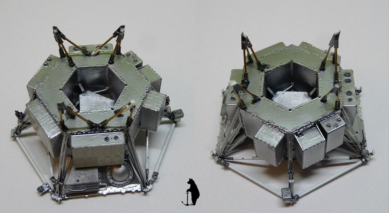 Crash-test planétaire : la sonde lunaire Ranger 8 au 1/24e 17072103242823134915160179