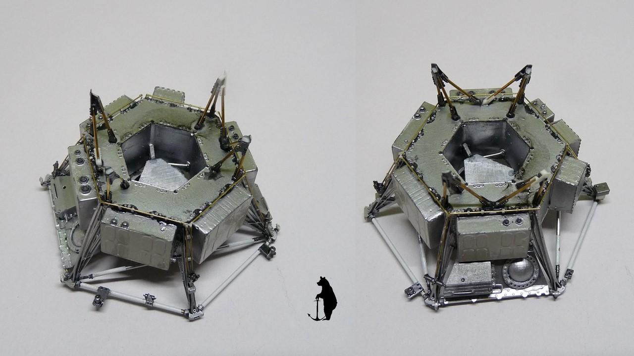 Crash-test planétaire : la sonde lunaire Ranger 8 au 1/24e 17072103243023134915160180