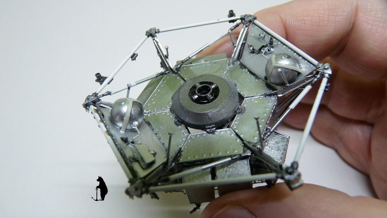 Crash-test planétaire : la sonde lunaire Ranger 8 au 1/24e 17072103243523134915160182