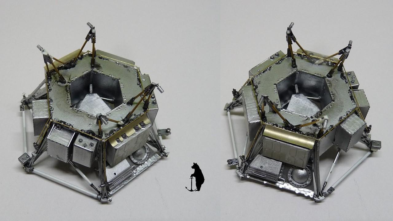 Crash-test planétaire : la sonde lunaire Ranger 8 au 1/24e 17072103243923134915160184