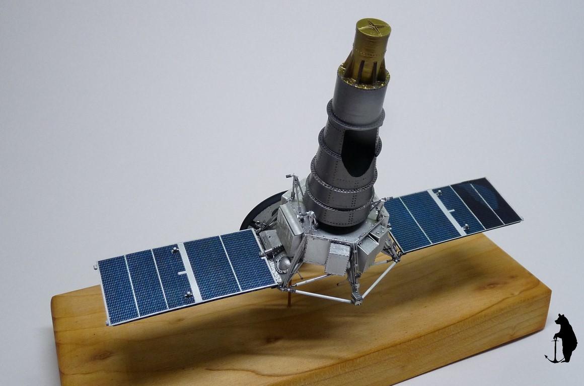 Crash-test planétaire : la sonde lunaire Ranger 8 au 1/24e 17072103244323134915160186