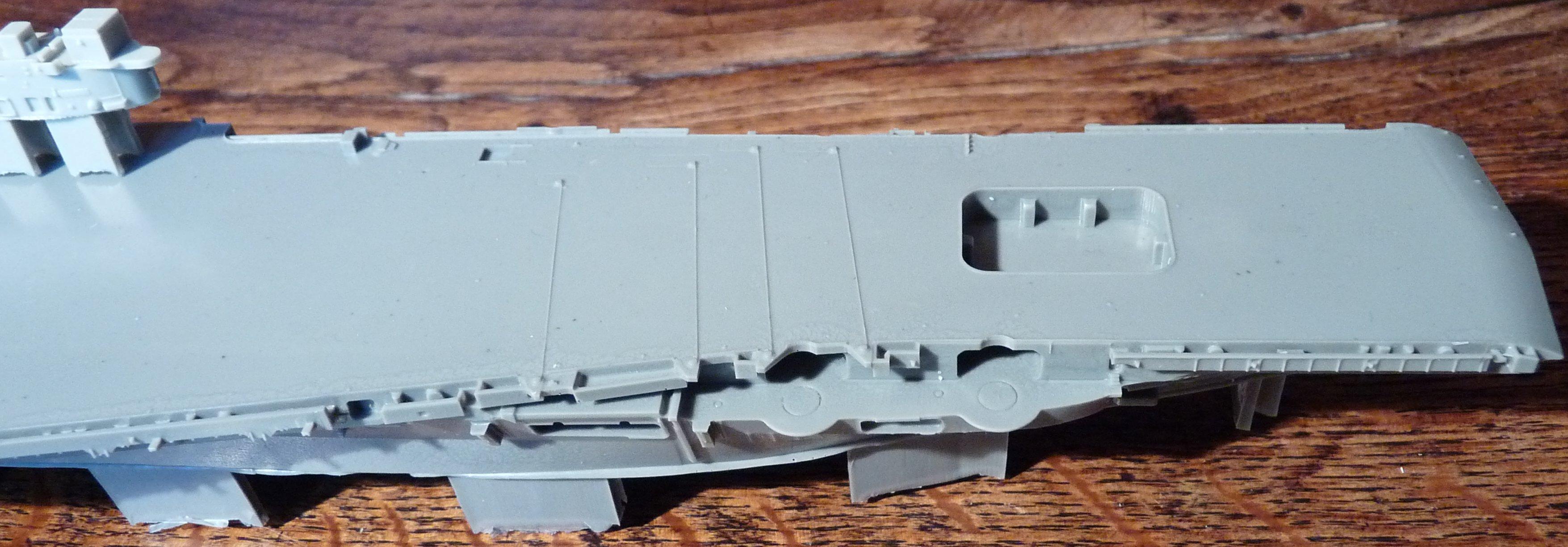 [HMS Victorious après refonte] 1/700e maquette Orange Hobby 17072112561523134915159380