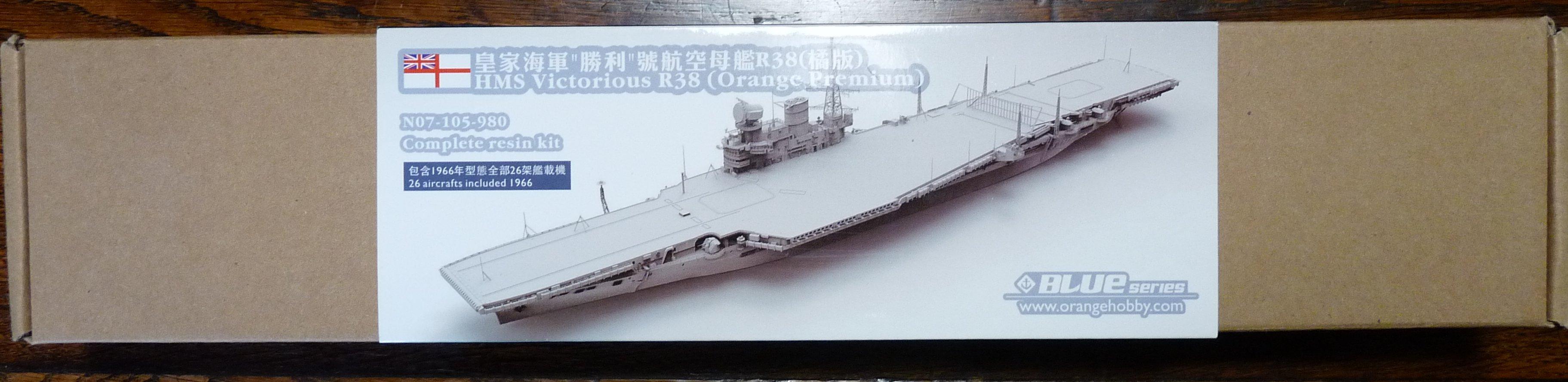 [HMS Victorious après refonte] 1/700e maquette Orange Hobby 17072112574623134915159395
