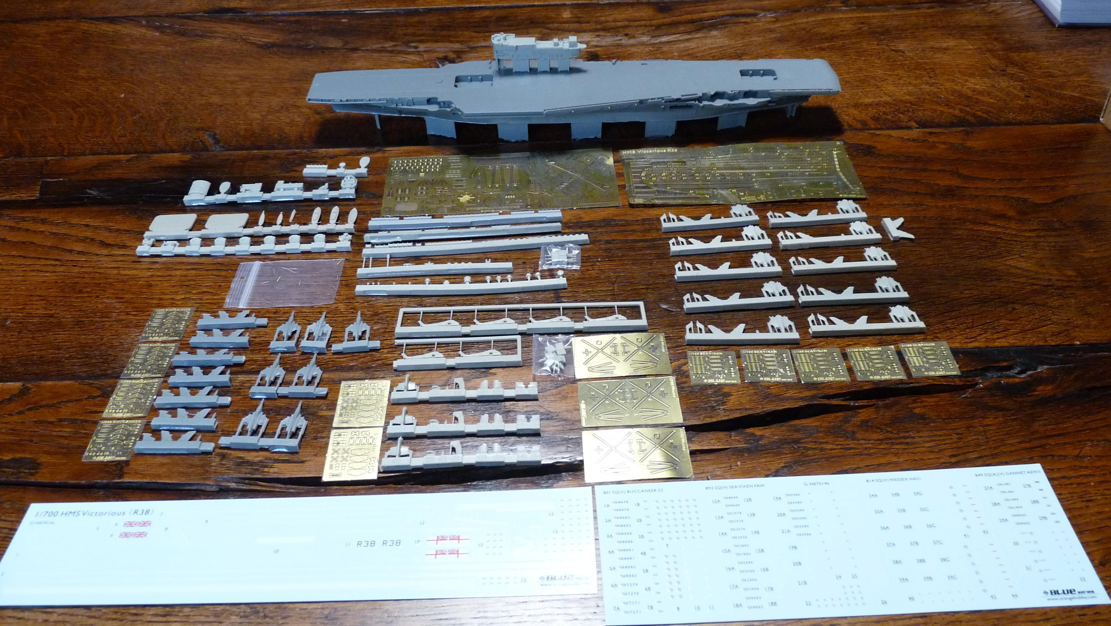 [HMS Victorious après refonte] 1/700e maquette Orange Hobby 17072112581723134915159396