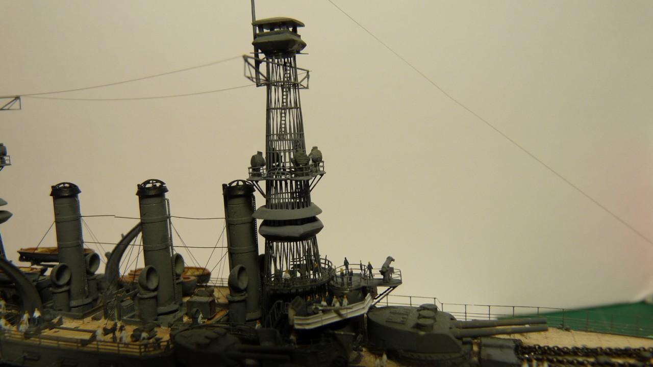 USS Vermont BB-20 (état de 1909) au 1/700e de Niko Models - Page 2 17072311552823134915164834