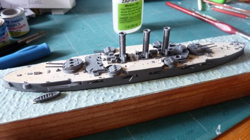 USS Vermont BB-20 (état de 1909) au 1/700e de Niko Models - Page 2 17072311555823134915164854