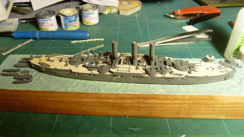 USS Vermont BB-20 (état de 1909) au 1/700e de Niko Models - Page 2 17072311560223134915164858