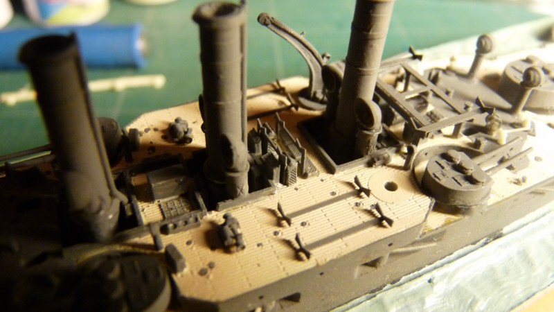 USS Vermont BB-20 (état de 1909) au 1/700e de Niko Models - Page 2 17072311560723134915164864