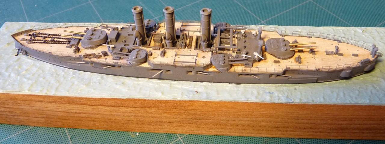 USS Vermont BB-20 (état de 1909) au 1/700e de Niko Models - Page 2 17072311562723134915164877
