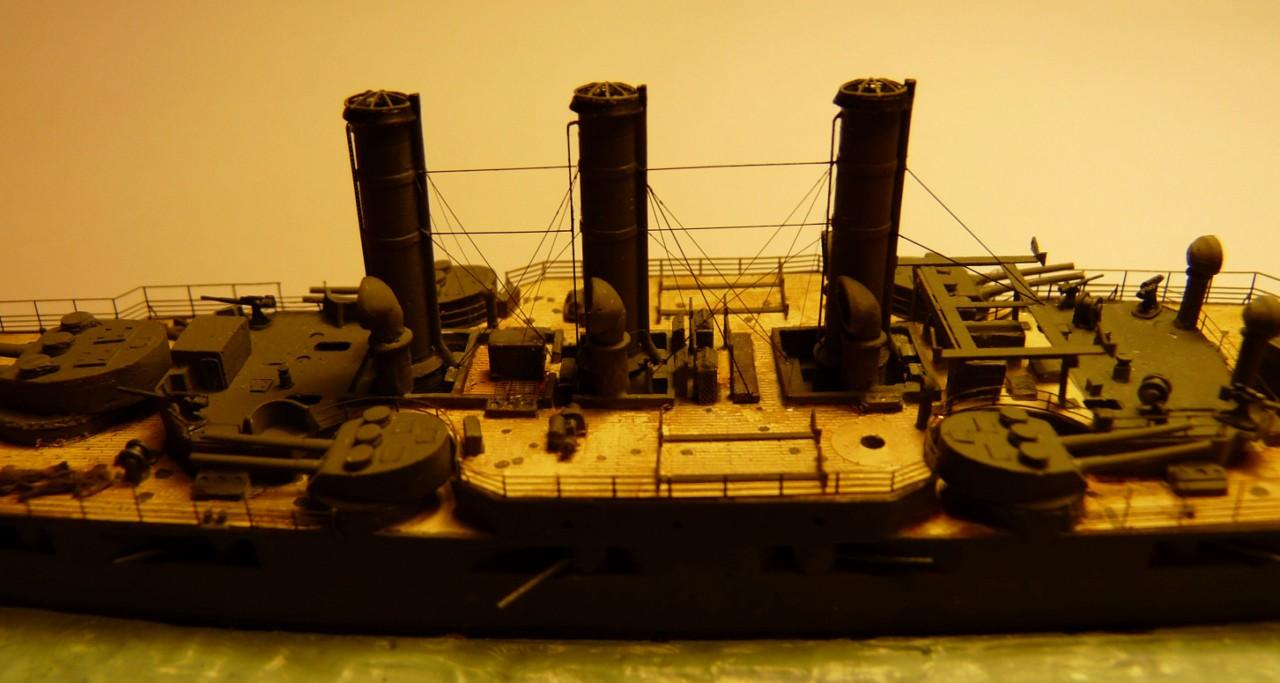 USS Vermont BB-20 (état de 1909) au 1/700e de Niko Models - Page 2 17072311564023134915164882