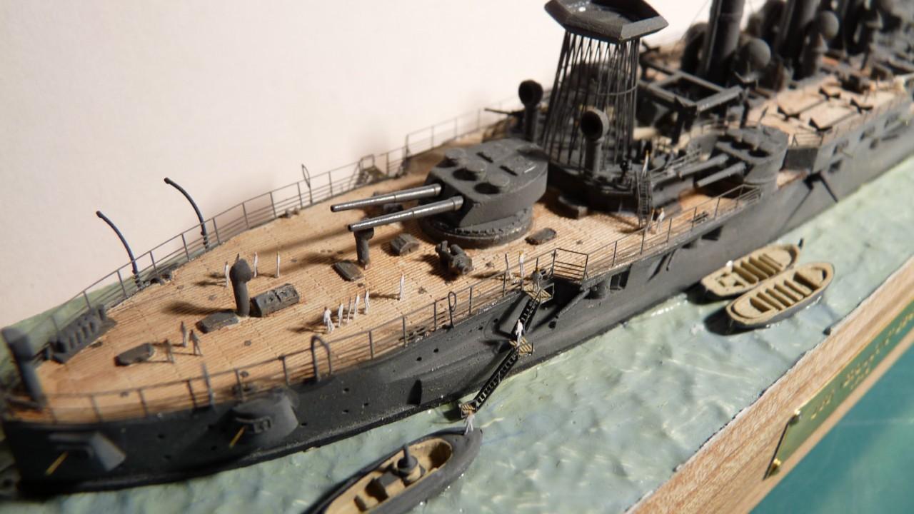 USS Vermont BB-20 (état de 1909) au 1/700e de Niko Models - Page 2 17072311570123134915164891