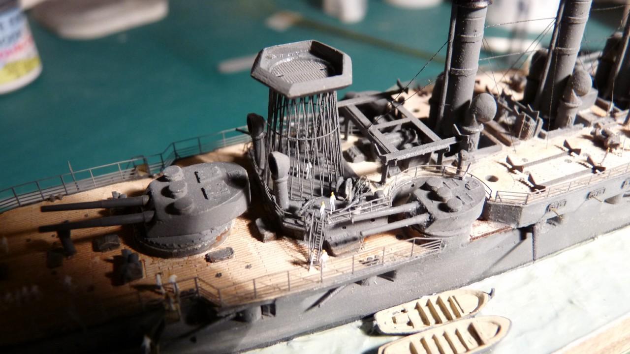 USS Vermont BB-20 (état de 1909) au 1/700e de Niko Models - Page 2 17072311570423134915164892
