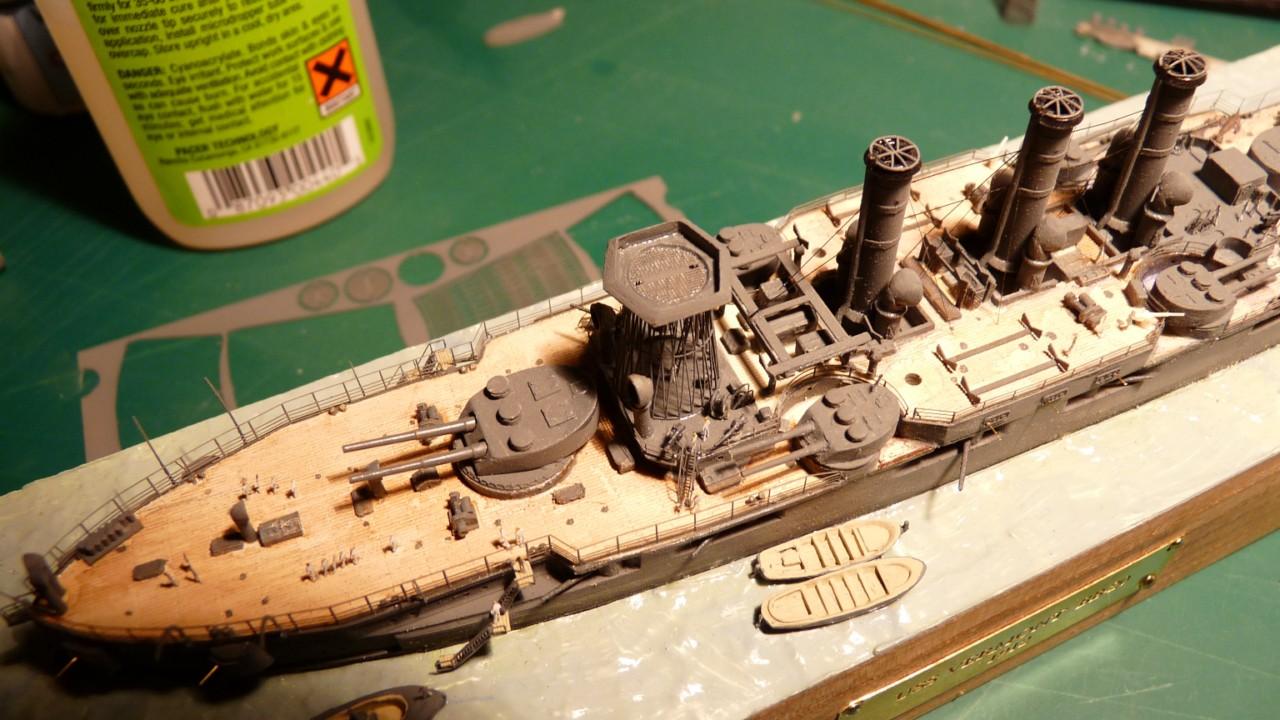 USS Vermont BB-20 (état de 1909) au 1/700e de Niko Models - Page 2 17072311570823134915164893