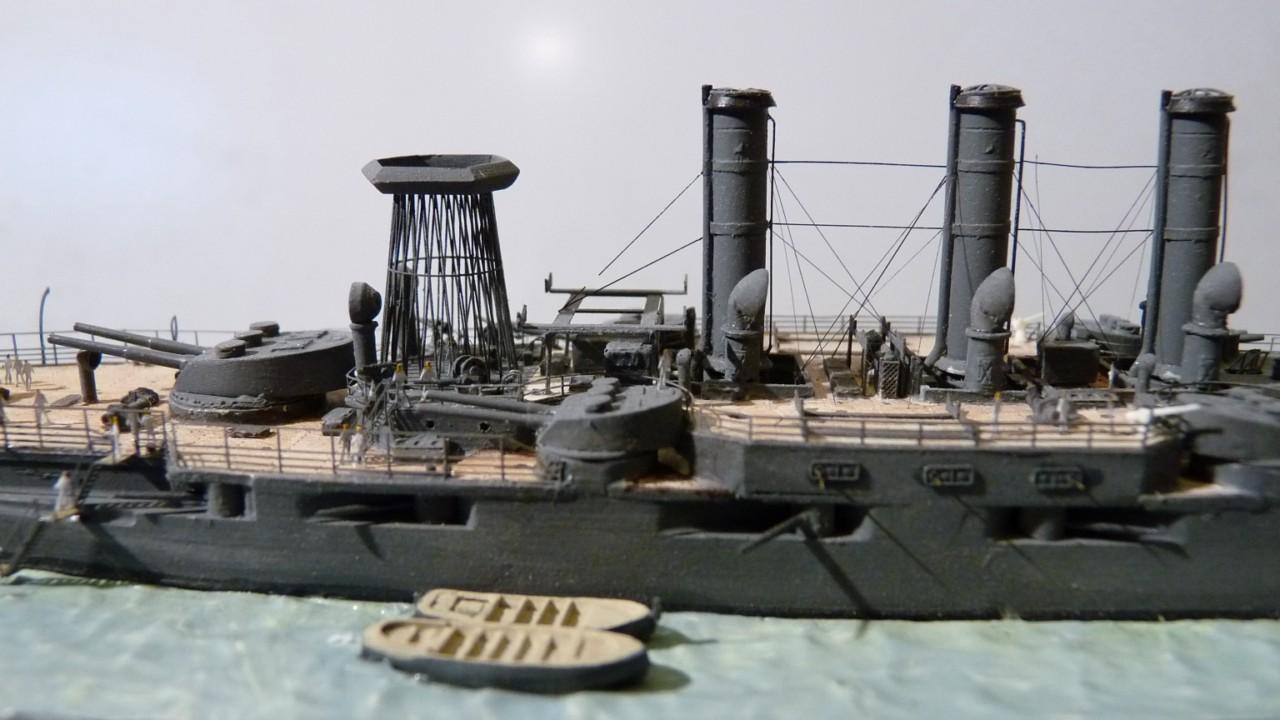 USS Vermont BB-20 (état de 1909) au 1/700e de Niko Models - Page 2 17072311571923134915164897