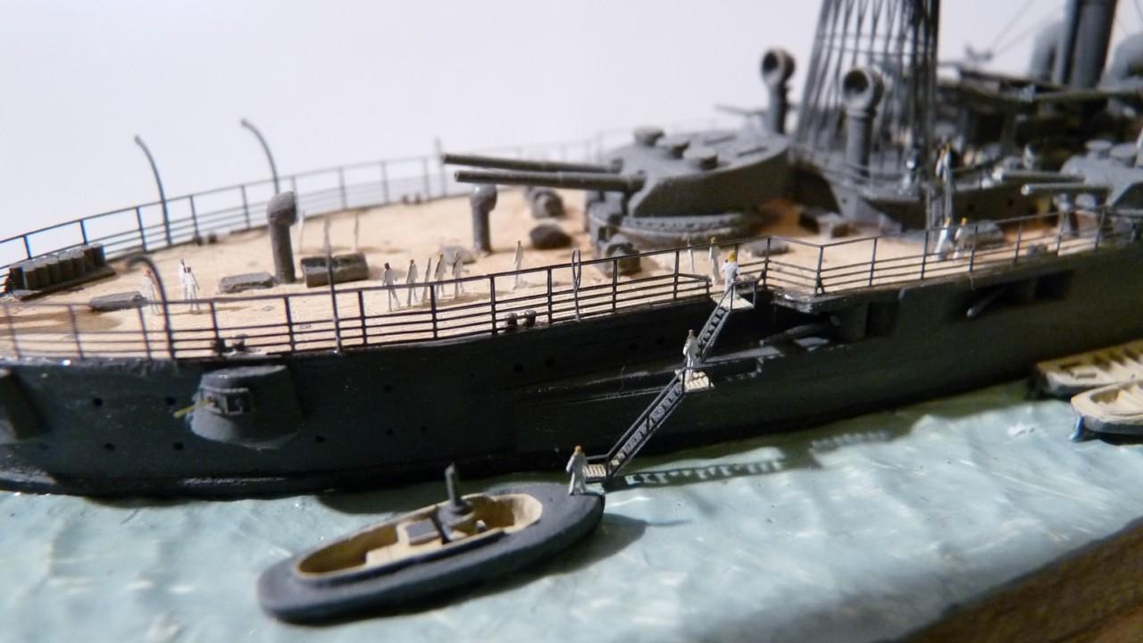 USS Vermont BB-20 (état de 1909) au 1/700e de Niko Models - Page 2 17072311572423134915164899