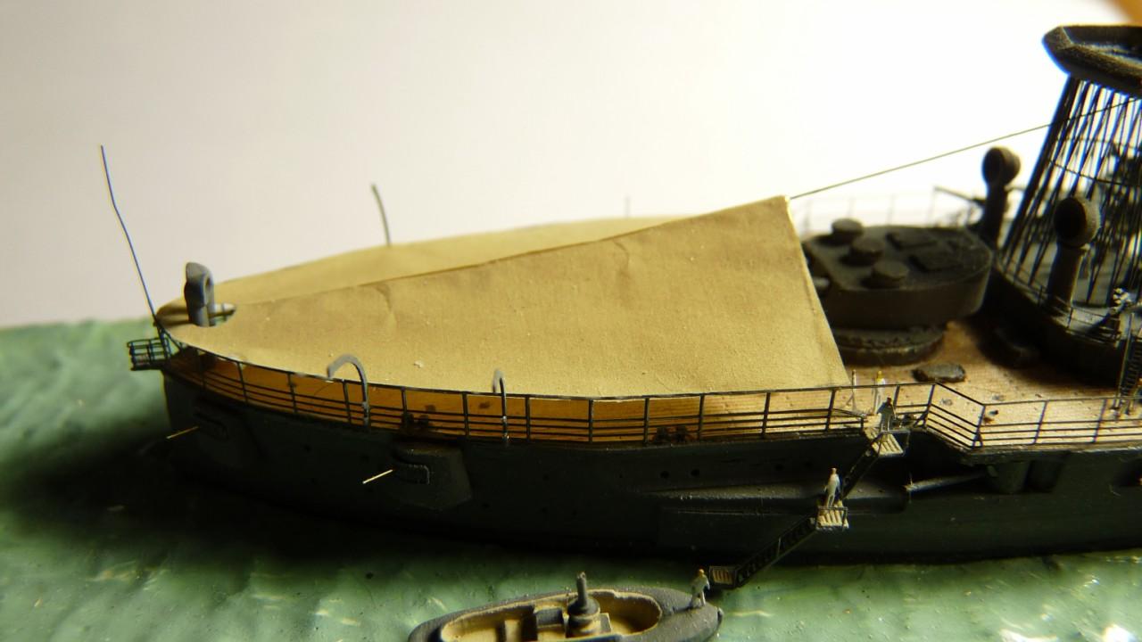 USS Vermont BB-20 (état de 1909) au 1/700e de Niko Models - Page 2 17072311573223134915164902