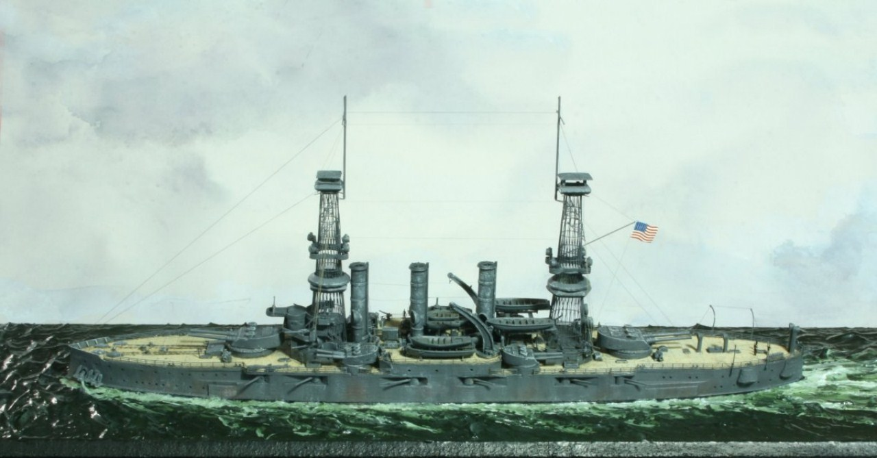 USS Vermont BB-20 (état de 1909) au 1/700e de Niko Models - Page 2 17072412370923134915164926