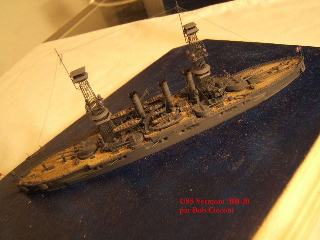 USS Vermont BB-20 (état de 1909) au 1/700e de Niko Models - Page 2 17072412371023134915164927