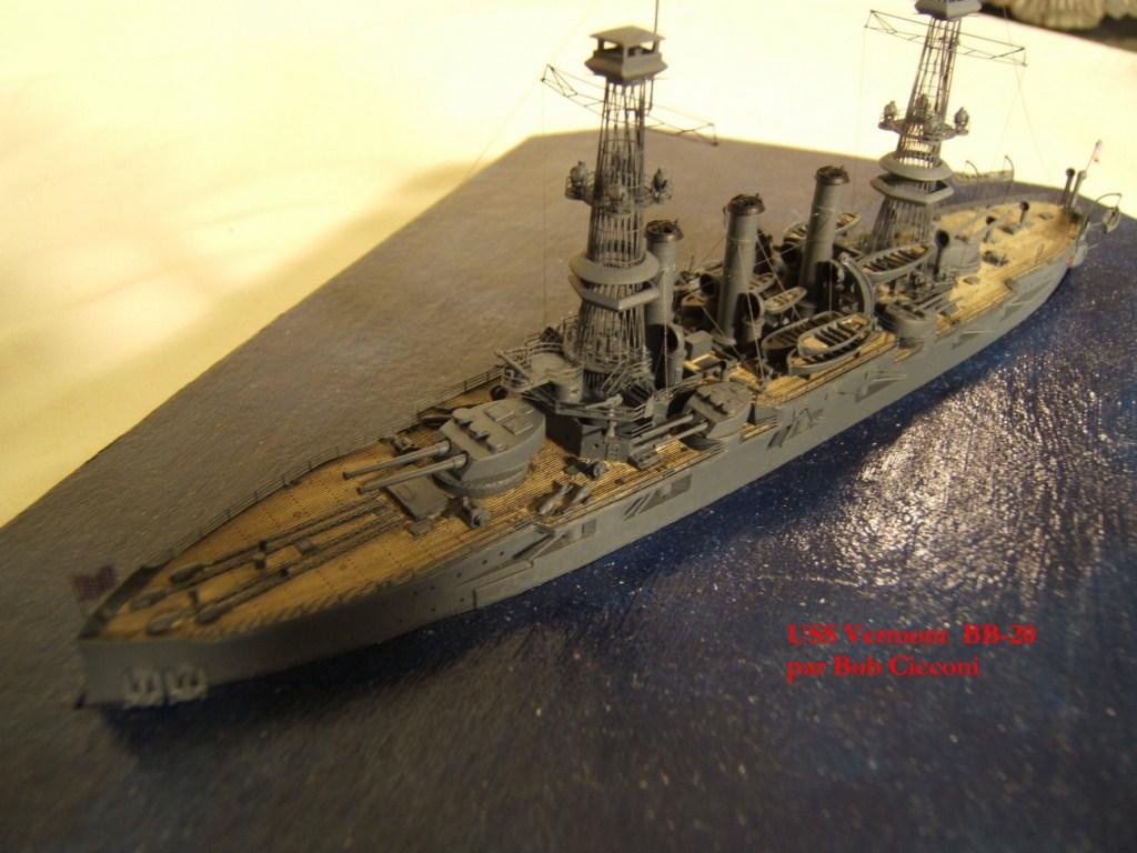 USS Vermont BB-20 (état de 1909) au 1/700e de Niko Models - Page 2 17072412371223134915164928