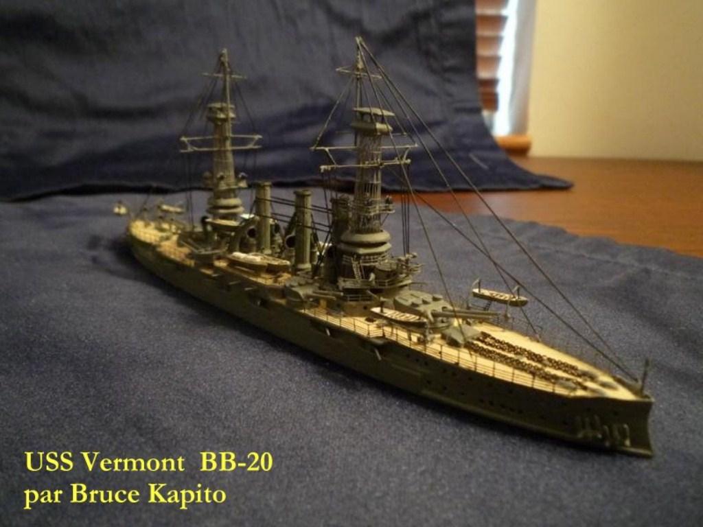 USS Vermont BB-20 (état de 1909) au 1/700e de Niko Models - Page 2 17072412371523134915164930
