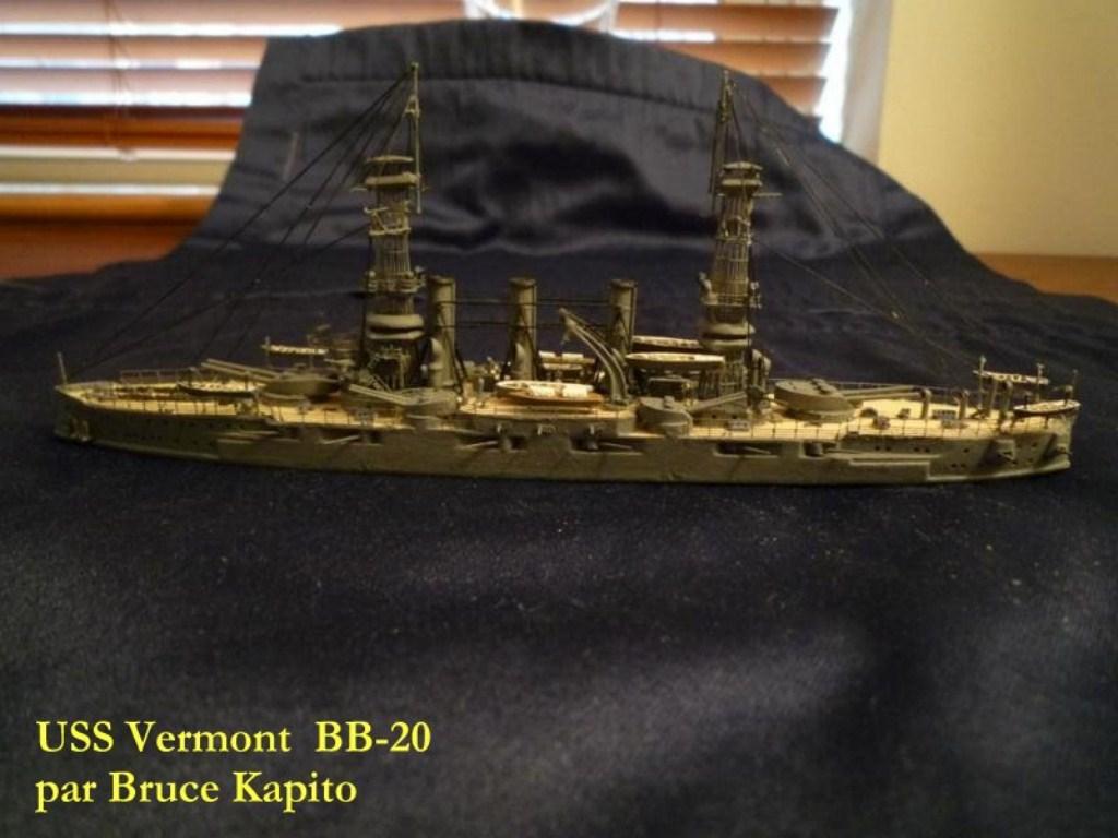 USS Vermont BB-20 (état de 1909) au 1/700e de Niko Models - Page 2 17072412371623134915164931