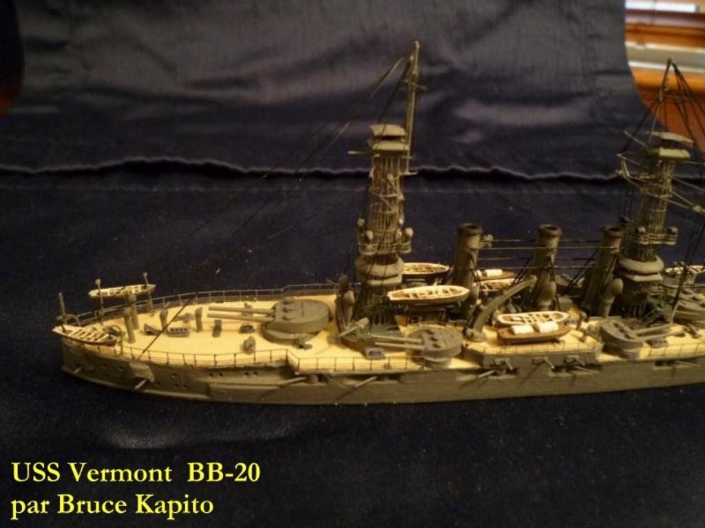 USS Vermont BB-20 (état de 1909) au 1/700e de Niko Models - Page 2 17072412371823134915164932